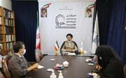 تصاویر/ نشست خبری رئیس مرکز امور نخبگان و استعدادهای برتر حوزه های علمیه