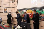 تصاویر/ تجلیل از فرزندان شهدا و ایثارگران همزمان با هفته دفاع مقدس