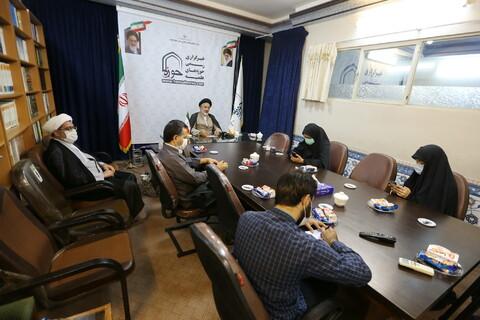 تصاویری/ نشست خبری رئیس مرکز امور نخبگان و استعدادهای برتر حوزه های علمیه