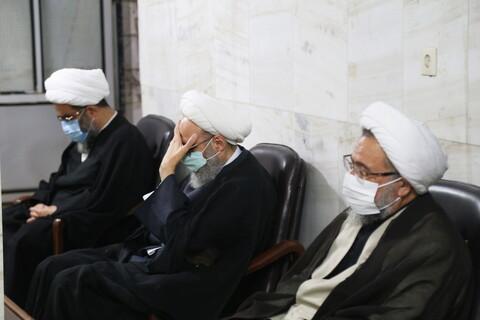 تصاویر / مراسم عزاداری اربعین حسینی در بیت آیت الله مقتدایی