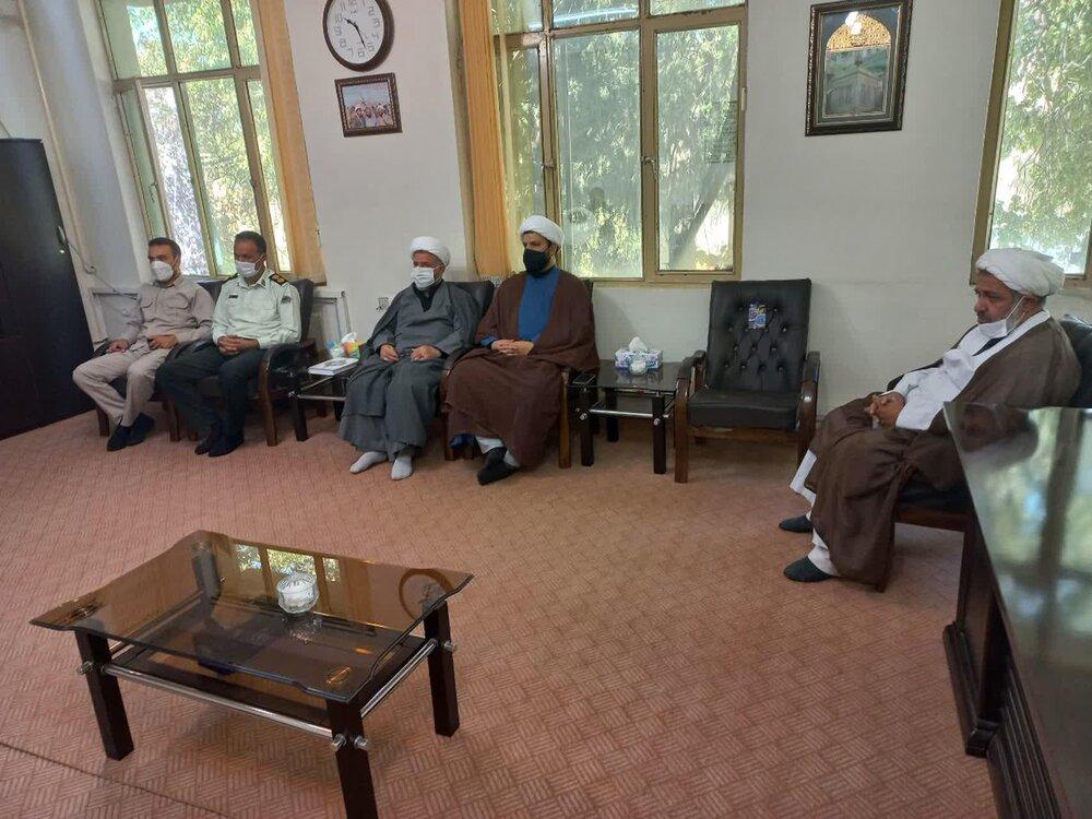 جلسه هماهنگی اجلاسیه شهدای روحانی استان ایلام