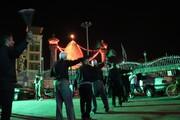 تصاویر/ عزاداری شب اربعین حسینی در بین الحرمین شیراز
