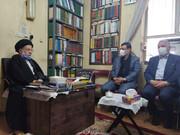دیدار رئیس بنیاد شهید کشور با آیت الله شفیعی