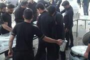 تصاویر/ آیین اربعین حسینی و پیاده روی جاماندگان در تفت