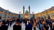 تصاویر/ پیاده روی جاماندگان اربعین حسینی در آران و بیدگل