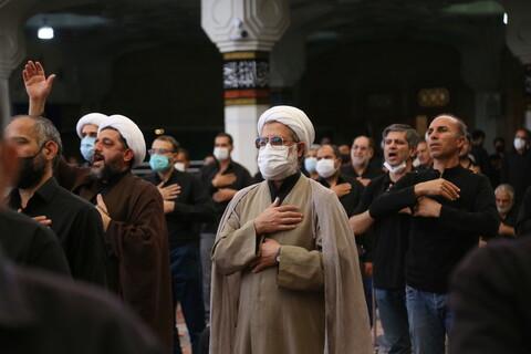 تصاویر / حال و هوای حرم کریمه اهل بیت (ع) در روز اربعین حسینی