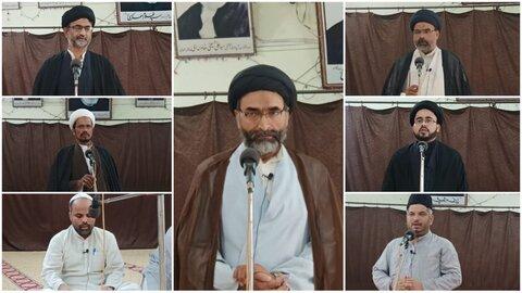 تنظیم المکاتب میں قرآن خوانی اور جلسہ تعزیت منعقد
