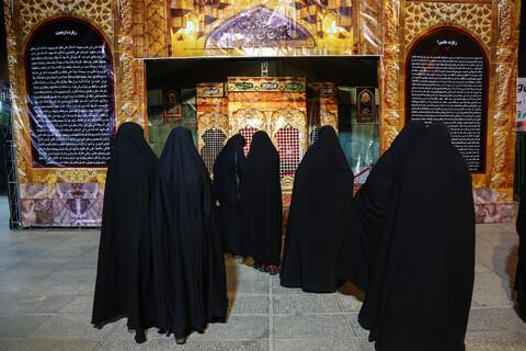 نمایشگاه واقعهنگاری اربعین در حرم حضرت معصومه