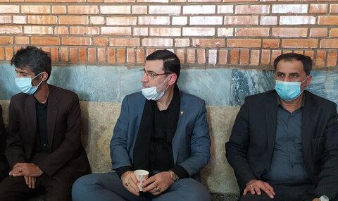 حضور رئیس بنیاد شهید کشور در مجلس یادبود علی لندی
