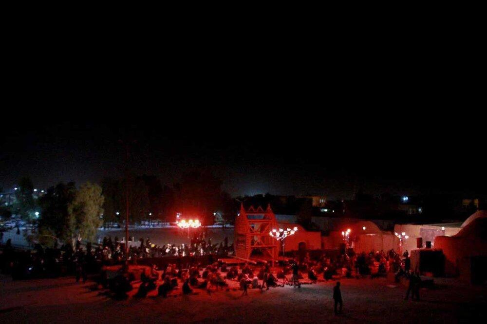 ابتکار یکی از هیئت های مذهبی یزد در محله محوری +عکس