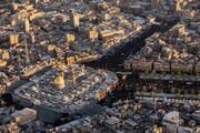 کربلا میں اربعین حسینی کی فضائی تصاویر