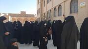فیلم| پیاده روی نمادین اربعین در مدرسه علمیه الزهرا(س)یزد