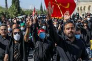 تصاویر/ راهپیمایی جاماندگان اربعین در بیرجند