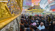 تصاویر/ حال و هوای زائران اربعین حسینی در کربلای معلی