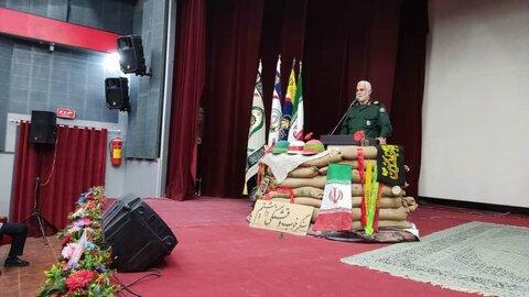 آیین تجلیل از ۶۰ رزمنده دفاع مقدس شهرستان آبادان برگزار شد