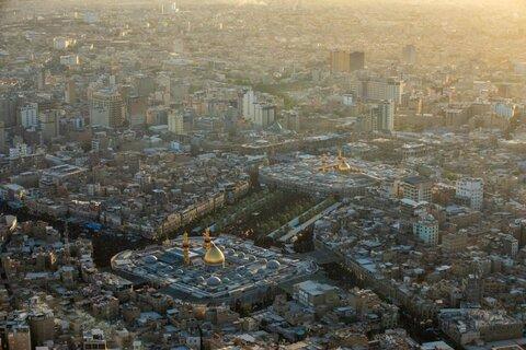 تصاویر هوایی از اربعین حسینی در کربلای معلی