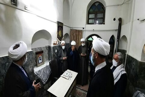 افتتاح پایگاه بسیج در مدرسه علمیه امام صادق (علیه السلام) مشکات کرمانشاه