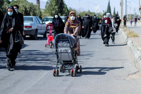 راهپیمایی جاماندگان اربعین در بیرجند