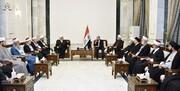 المالكي لشيوخ وعلماء دين فلسطينيين ولبنانيين: القدس اسلامية ولابد أن تعود