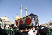 تصاویر/ مراسم تشییع پیکر آیت الله سید محمد رجائی موسوی