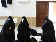 تجلیل از بانوان طلبه ایثارگر استان گلستان