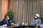 تصاویر/ دیدار جانشین دبیر ستاد امر به معروف و نهی از منکر قم با مسئول مرکز رسانه و فضایمجازی حوزههای علمیه