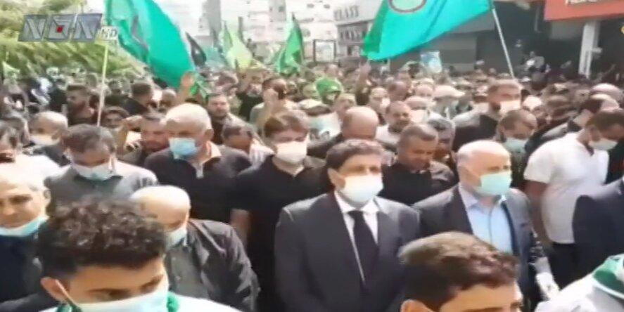 تشييع عقيلة الامام موسى الصدر في صور + فلم