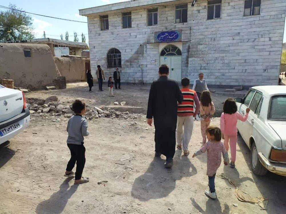 فیلم | تکمیل و بازسازی مدارس روستاها توسط طلاب جهادی بیجار