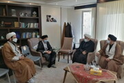 نشست مدیران نهادهای حوزوی آذربایجان شرقی با نماینده مردم تبریز در مجلس
