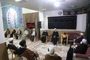 تصاویر/ نشست ماهیانه ائمه جماعات مساجد شهر پردیسان
