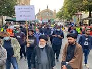 تصاویر/ جرمن؛ فرینکفرٹ میں چہلم امام حسین (ع) کی مناسبت سے اربعین واک کا انعقاد