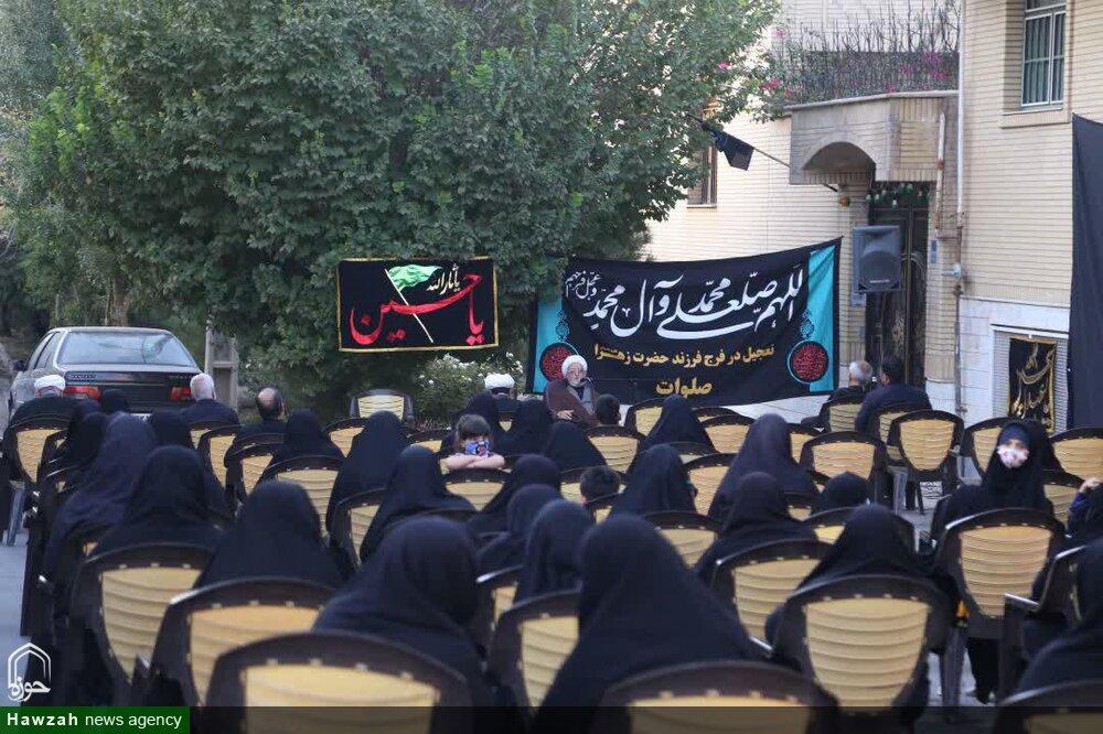 تصاویر/ مراسم عزاداری دهه آخر ماه صفر در محله بنیاد قم