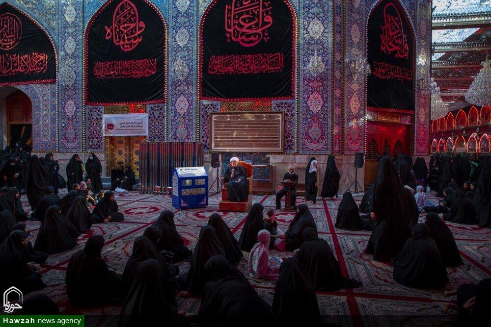 تصاویر/ روضہ مبارک حضرت عباس علیہ السلام میں زیارت اربعین کے حوالے سے تعلیمی و فکری لیکچرز کا انعقاد کیا گیا