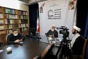 تصاویر/ وبینار گرامیداشت مقام علمی و اخلاقی علامه حسن زاده آملی