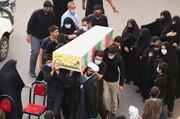 تصاویر / مراسم استقبال از شهید گمنام و عزاداری ۲۸ صفر در محله بنیاد قم