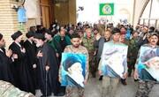مراسم چهلم آیتالله العظمی حکیم در مسجد سهله برگزار شد  + تصاویر