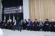 مراسم بزرگداشت همسر امام موسی صدر در لبنان برگزار شد + تصاویر