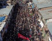تصاویر/ کرگل میں یوم فات رسول (ص) و شہادت امام حسن (ع) پر جلوس و مجلس میں عزاداروں کا جمع غفیر