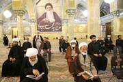 تصاویر/ مراسم هفتمین شب درگذشت آیت الله سید محمد رجائی موسوی