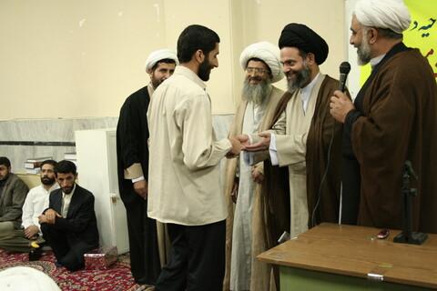 تصاویر آرشیوی از مراسم افتتاحیه دوره آموزشی مدیریت مسجد در مدرسه عالی دارالشفاء - مهرماه ۱۳۸۶
