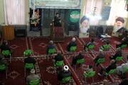 تصاویر | مراسم عزاداری شهادت امام رضا(ع) در مدرسه علمیه آیت الله آخوند(ره) همدان