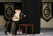 مراسم عزاداری سالرروز شهادت امام رضا علیهالسلام با حضور رهبری برگزار شد