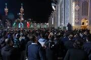 تصاویر/ شہادت امام علی رضا (ع) کے موقع پر روضہ مقدس امام رضا (ع) میں عزاداری کے مناظر