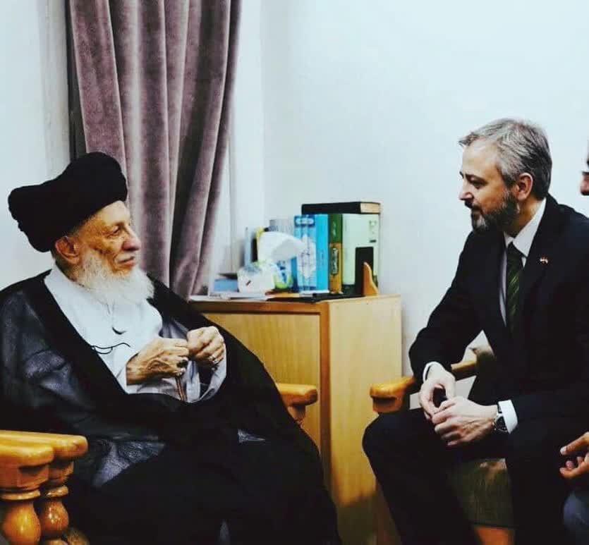 ماجرای جالب دیدار سفیر صربستان با مرحوم آیتالله العظمی حکیم در نجف