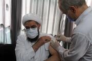 امام جمعه همدان نوبت اول واکسن ایرانی کرونا «پاستور» را دریافت کرد + عکس