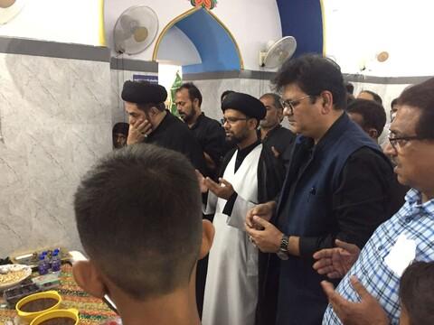 امام علی رضا علیہ السلام کے پرچم کی زیارت لکھنؤ میں کرائی گئی