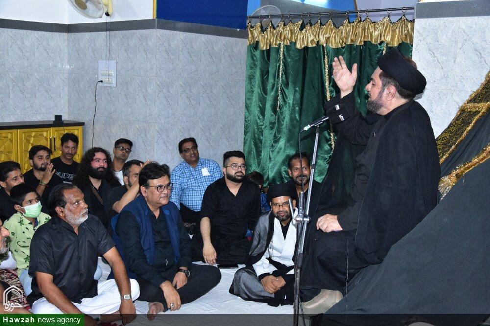 لکھنؤ میں امام علی رضا (ع) کے پرچم کی زیارت کرائی گئی