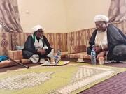 دیدار رئیس مجلس شیعیان نیجر با شیخ زکزاکی + تصاویر