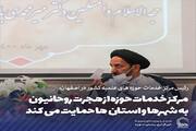 عکس نوشت | مرکز خدمات حوزه از هجرت روحانیون به شهرها و استان ها حمایت می کند