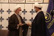 گزارشی از مراسم معارفه معاون جدید فرهنگی و تبلیغی حوزه علمیه خواهران